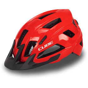 Cube Steep Casco, rosso
